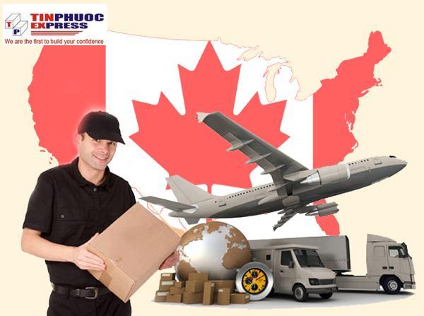 Giá cước vận chuyển hàng đi Canada