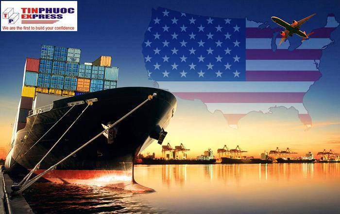 Giá cước vận chuyển hàng đi Mỹ bao nhiêu?
