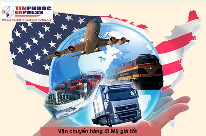 Giá cước vận chuyển hàng đi Mỹ
